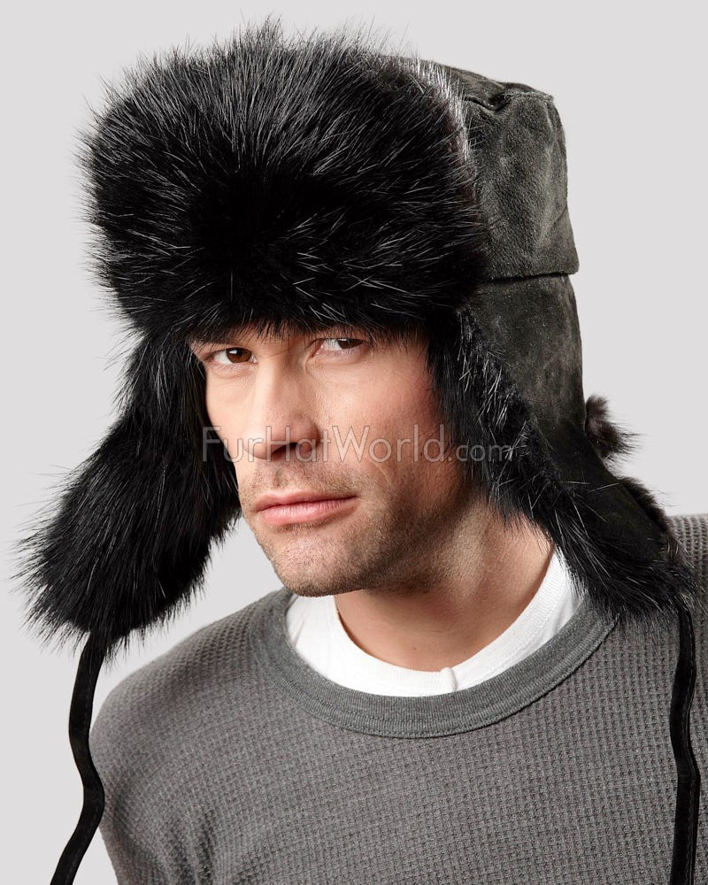 The Black Beaver Russian Trooper Hat
