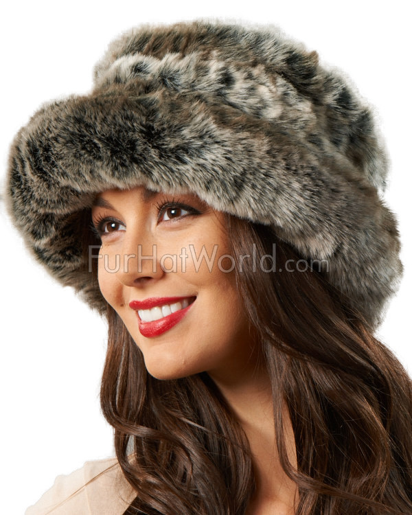 Avery Premium-Faux Fur Hat in Tundra