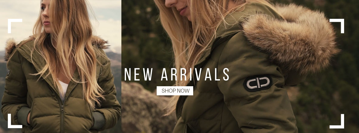 Down Coats New Arrivals