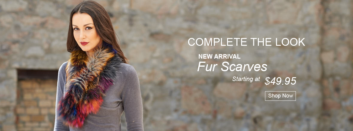 New arrival fur scarves