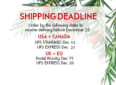 Shipping Deadline2017