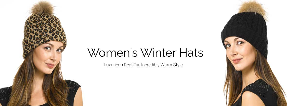 Womens Winter Fur Hats