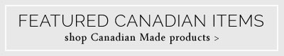Canadian Made Items