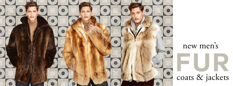 Mens Fur Coats
