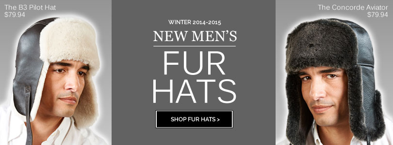 Mens Winter Fur Hats