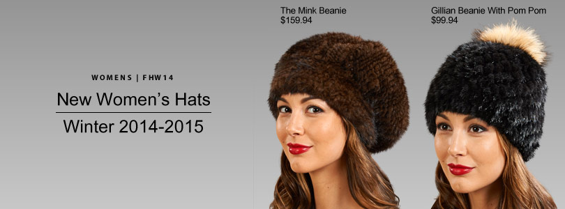 Womens Fur Hats