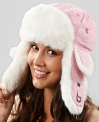 Women's 		Trapper Hats