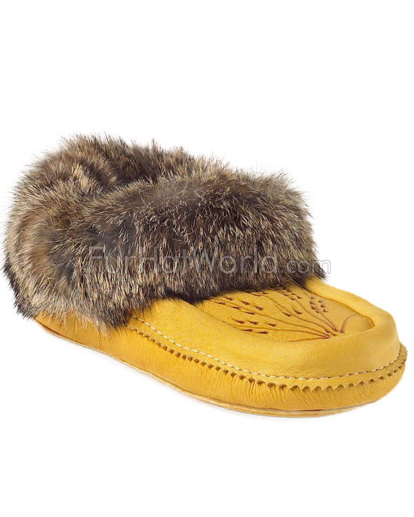 Deerskin Leather Moccasin