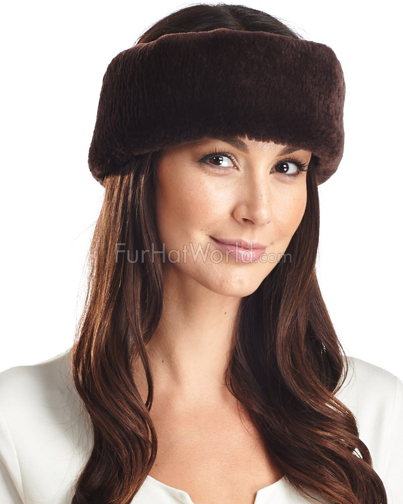 Ella Sheared Beaver Fur Headband