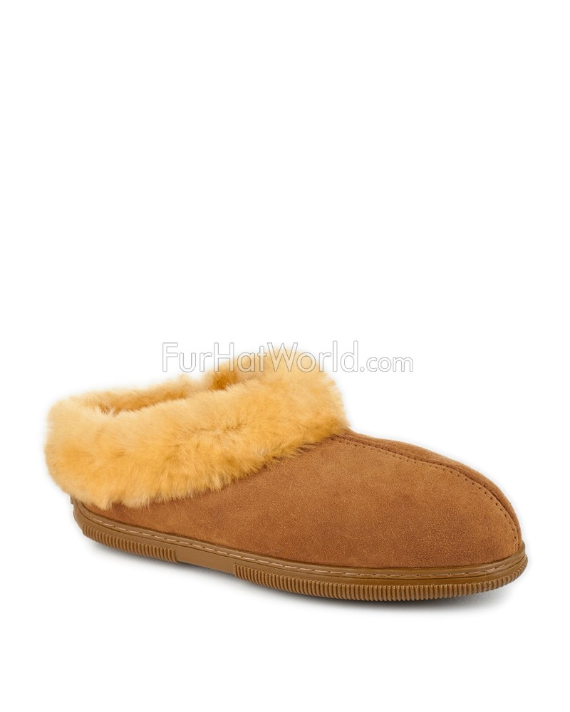 Deluxe Comfort Sheepskin Cottage Clog Slipper