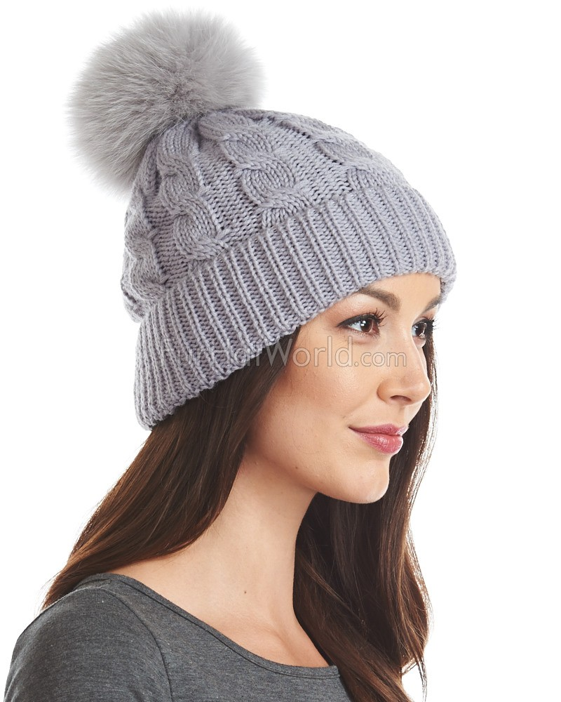 Beanie hats for women are available in a range of fashionable and functional designs, including hats that feature the classic pom pom on top. Whether you choose to pom or not, you can expect these expertly manufactured beanies to fit comfortably and snugly, and protect you against the cold.