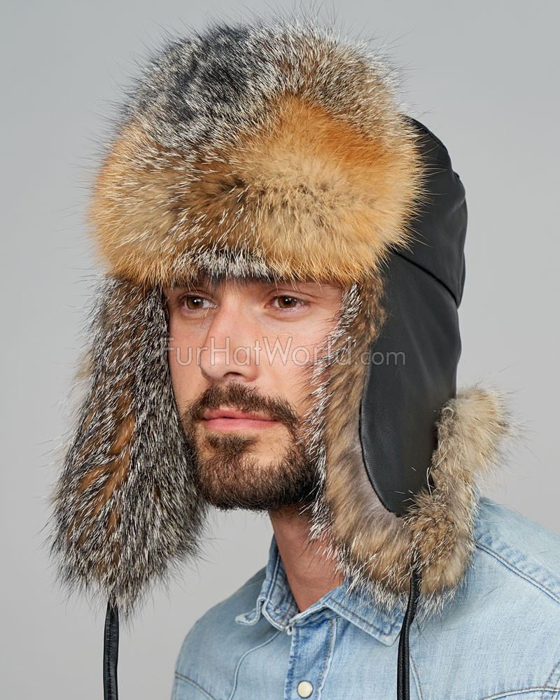The Gray Fox Russian Trooper Hat for Men