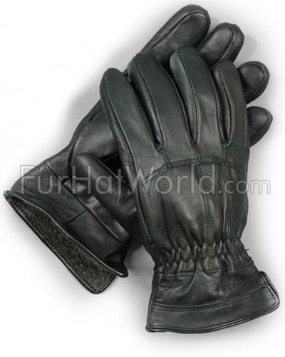 Mens Lambskin Leather Gloves
