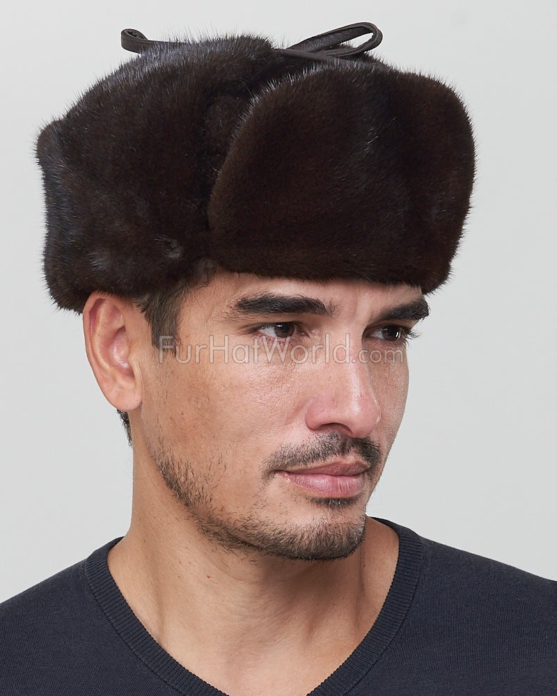 Mink Full Fur Russian Hat