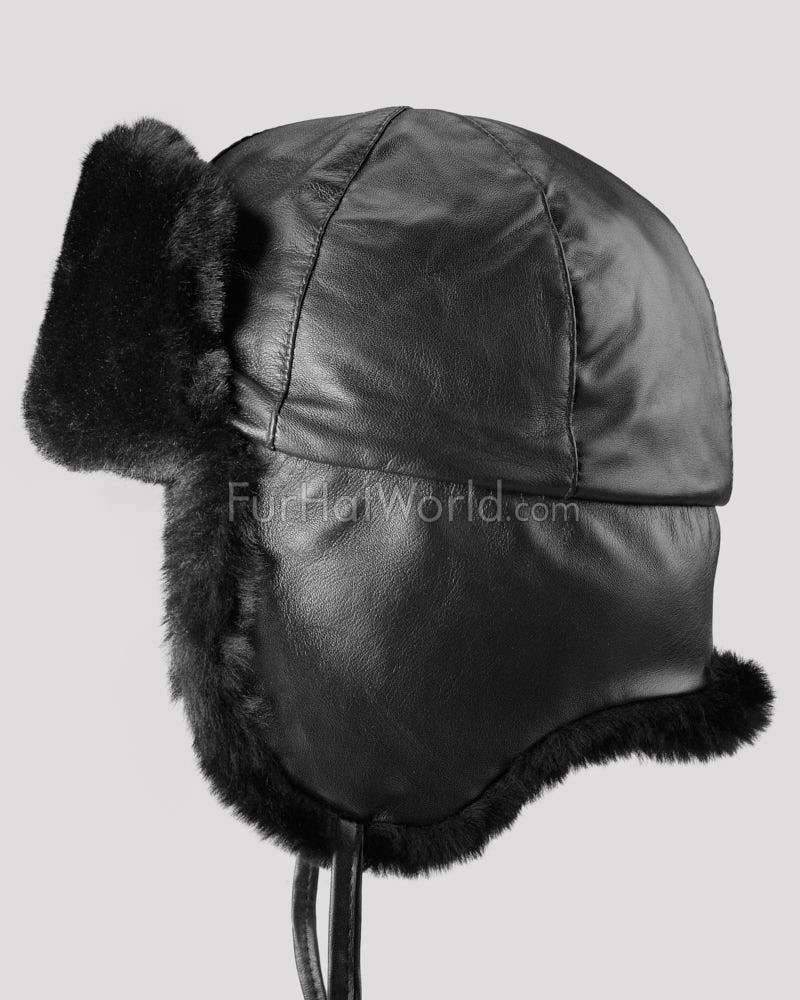 Trapper hats are usually associated with Russia, but many other countries have picked up the style. It is the official winter hat of both the German police forces and the Royal Canadian Mounted Police.