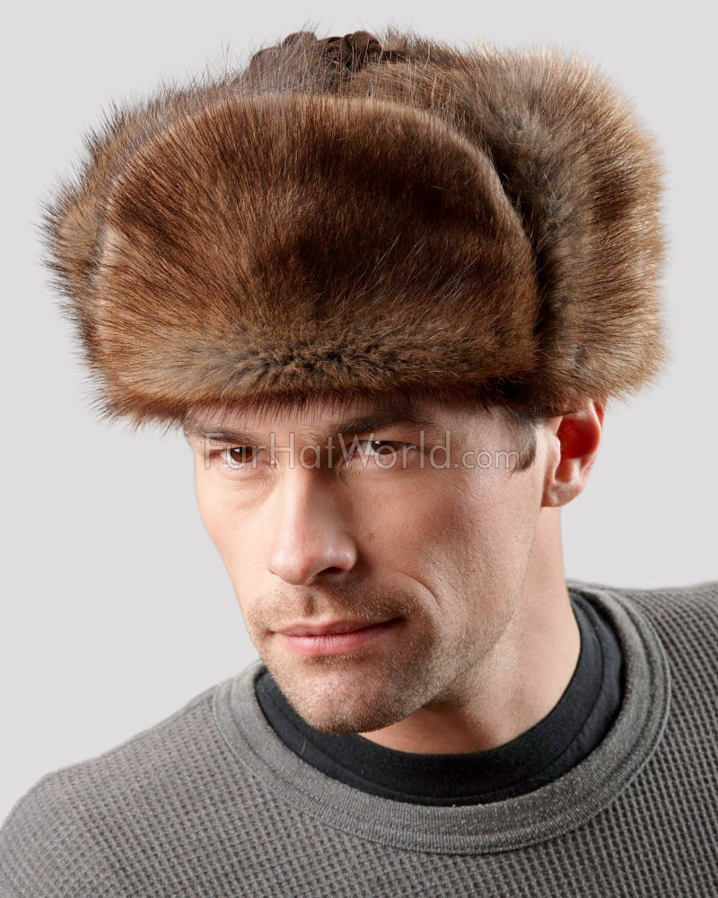 The Muskrat Russian Trooper Hat for Men