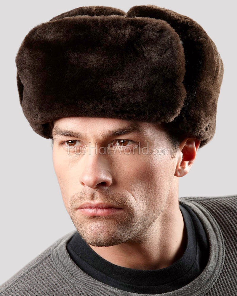 The Sheared Beaver Russian Trooper Hat for Men 41565d85de09