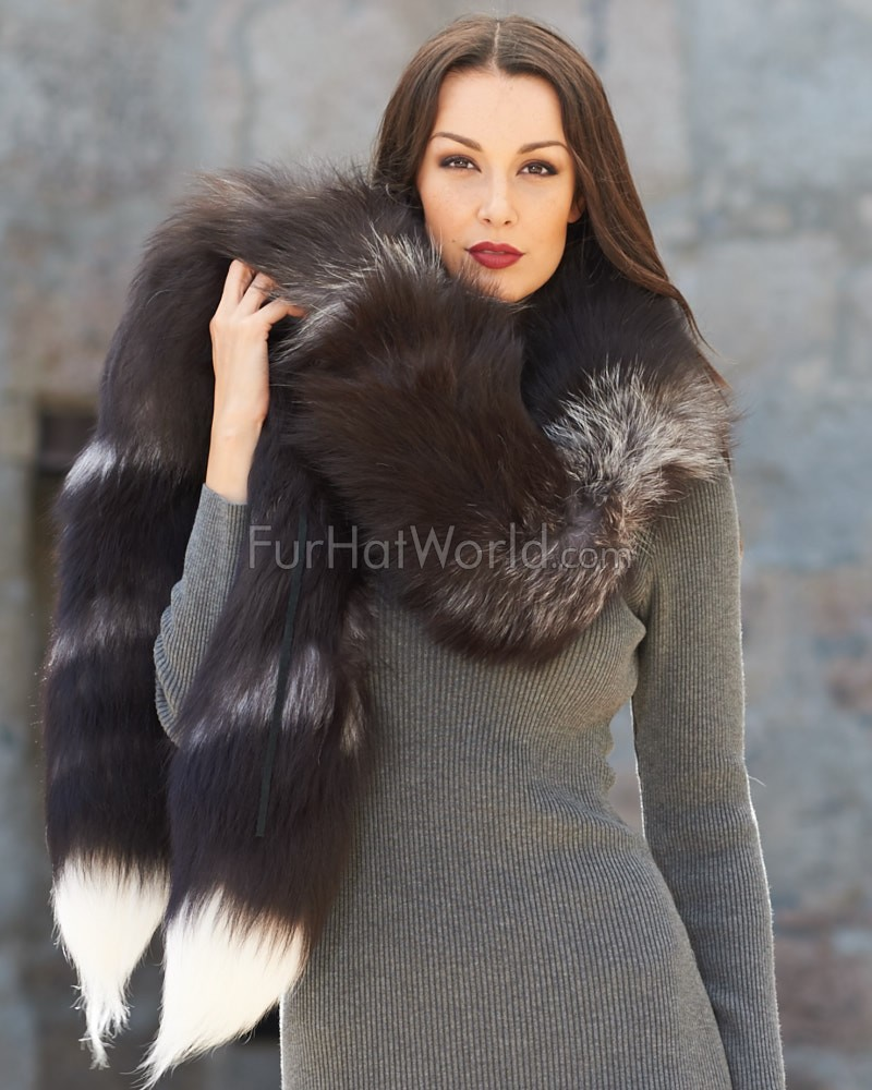 Fur Scarves This Seasons Must Have Accessory
