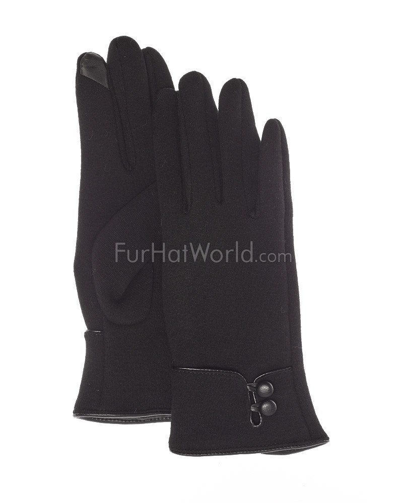 The Erin Touch Tech Glove in Black