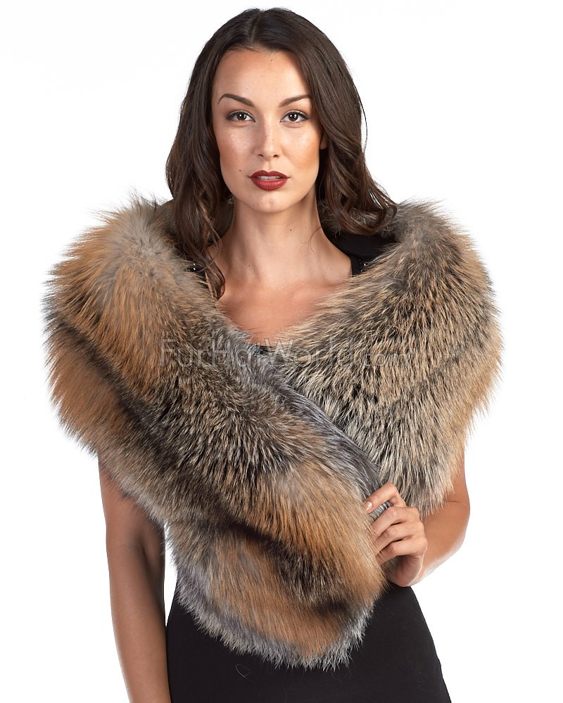 The Liberty Gold Fox Fur Stole