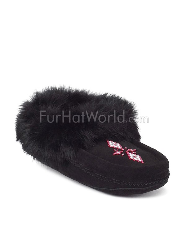 Tipi Moccasin in Black