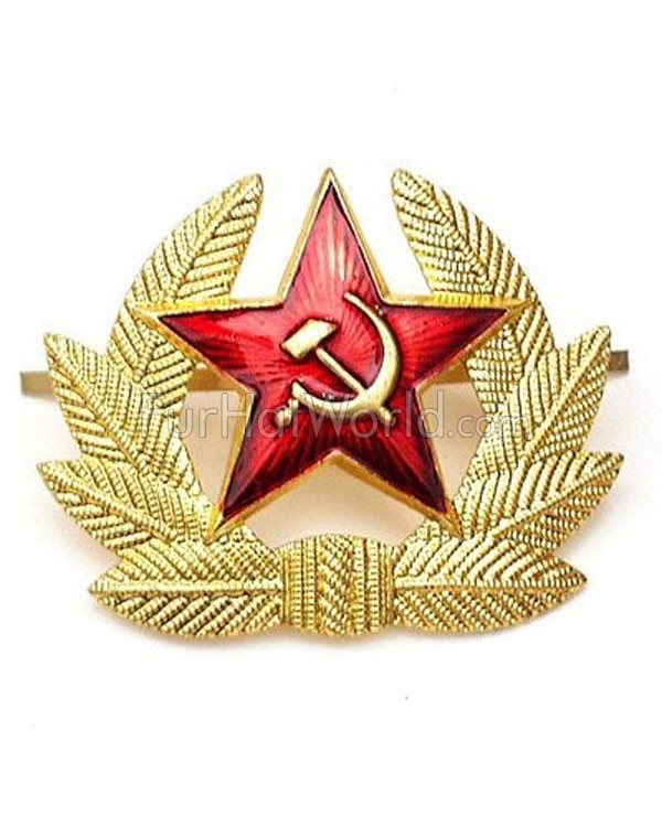 Russian Soviet Red Army USSR KOKARDA Hat Badge
