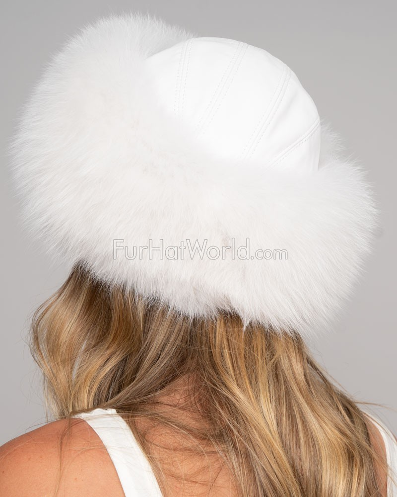 White fox fur - photo#20