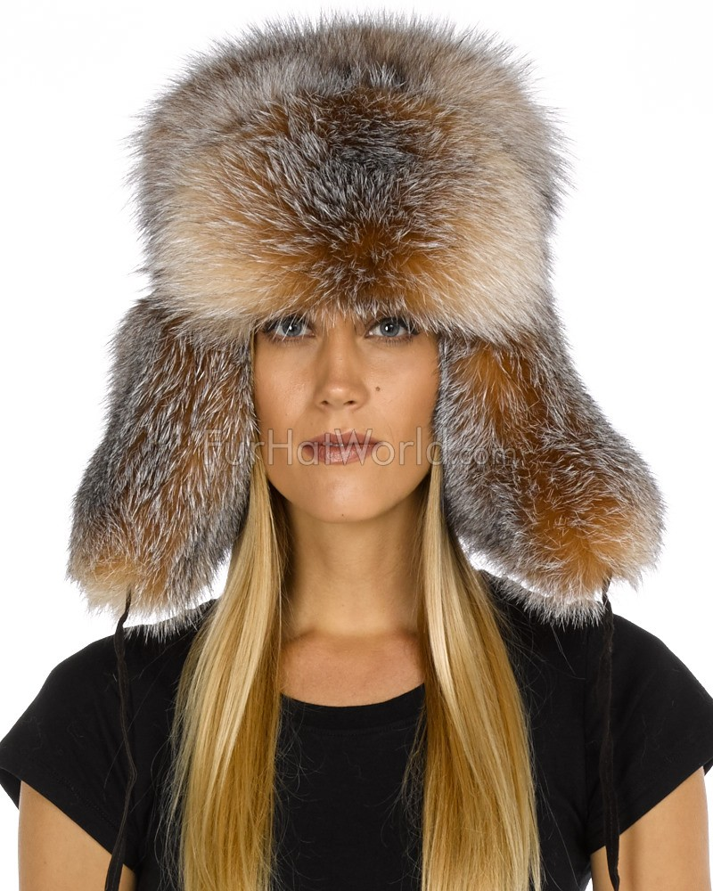 fox fur russian hat furhatworld