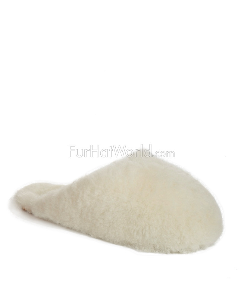 Women's Sheepskin Scuff Slippers
