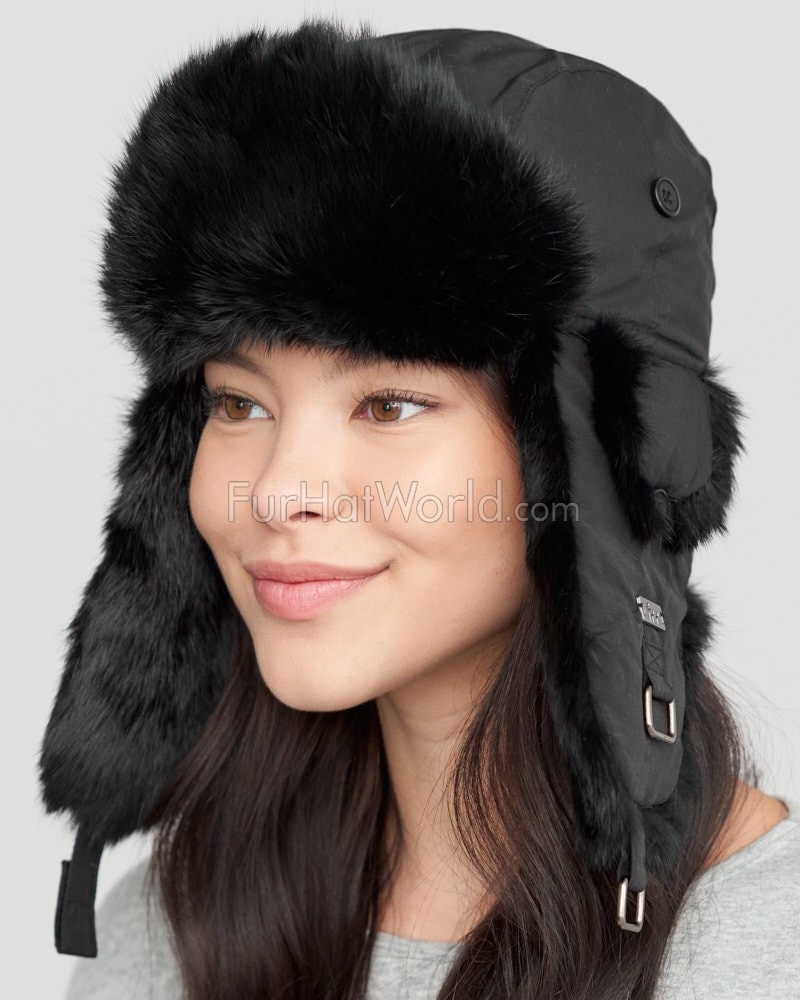 Find womens black fur hat at ShopStyle. Shop the latest collection of womens black fur hat from the most popular stores - all in one place.