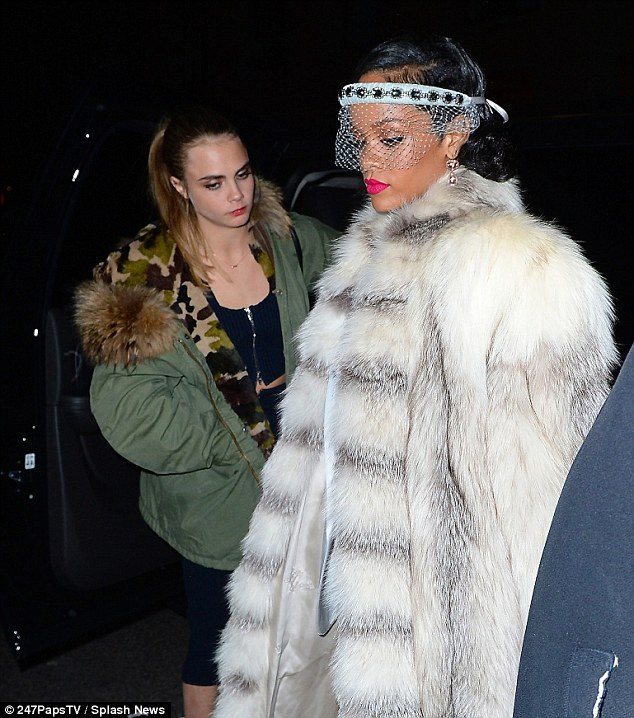Celebrities Starting 2014 Off Right In Fur