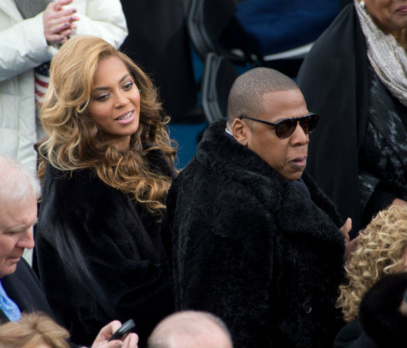 Beyonce And Jay Z Wear Fur To Presidential Inauguration