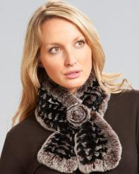 198x247_Rex_Rabbit_Fur_Pull_Through_Scarf_with_Rosette_Brown_Frost_