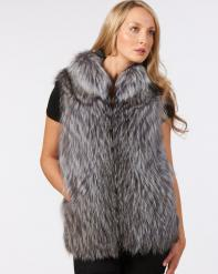 How to Wear a Fur Vest