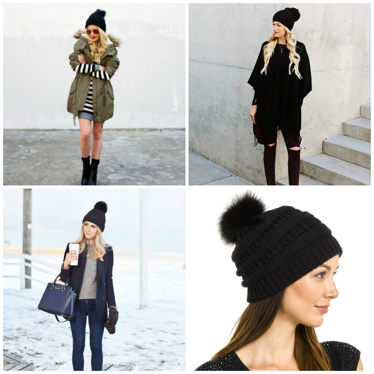 d11d47bc8ef40 2017 Most Coveted Hat - Fur Pom Pom Hat