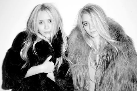 Mary Kate & Ashley Olsen Fur Divas