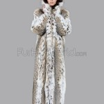 Full Length Lynx Fur Coat