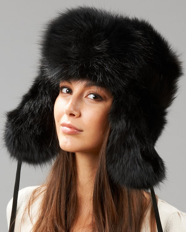 Full Fur Hats from the Runway
