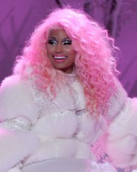 Nicki+Minaj+Outerwear+Fur+Coat+O5RY9jt1HVKl