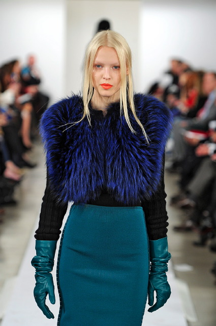 Oscar de la Renta - New York February 2013 - Fur Hat World 32c98d7ccb6