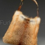 Red_Fox_Fur_Horn_Handbag_Purse_1137