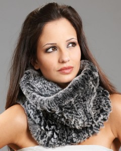 Fashionable Fur Scarves