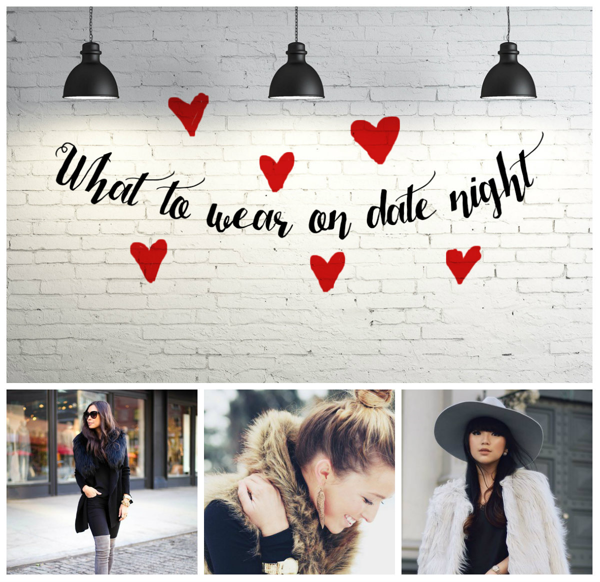 Look - Wear to what for romantic dinner date video