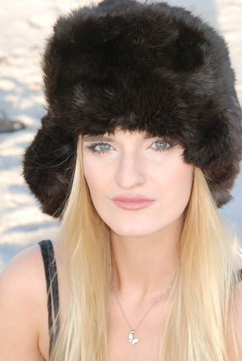 Real Fox Fur Hats Are Fashionable