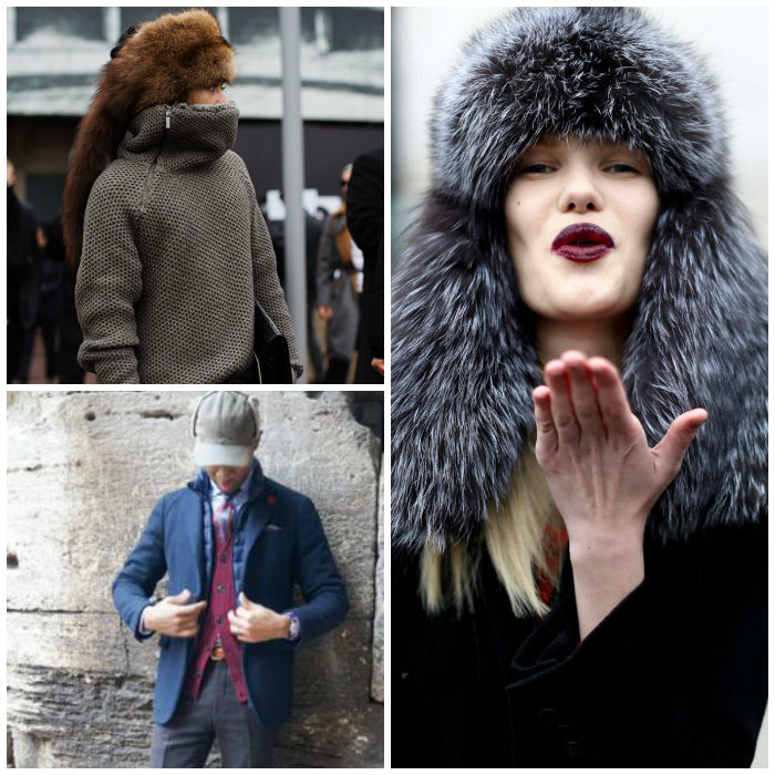 3bd60715810 Styling your fur hat