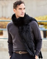 Men's Fur Scarves