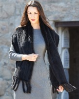 Mink Fur Scarves