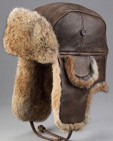 Leather Aviator Trapper Hats