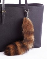 Fur Bag Charms