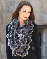 Rabbit Fur Scarves